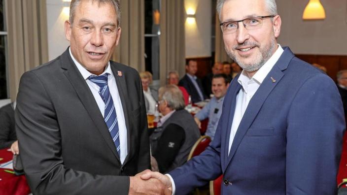 Wahl des Bürgermeisterkandidat Frank Steenmans