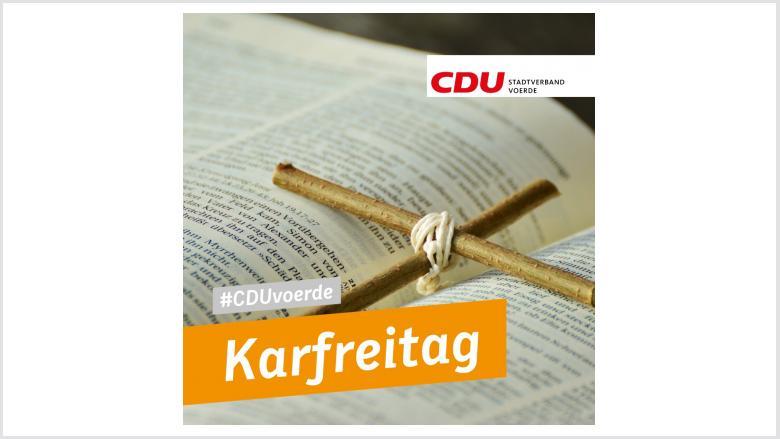 Karfreitag CDU Voerde