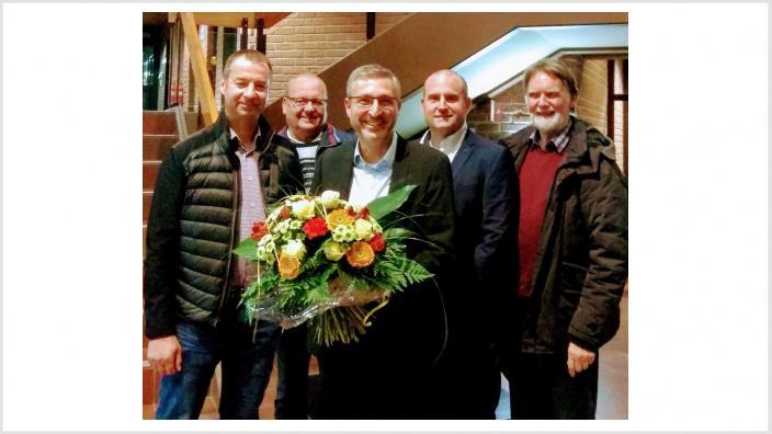 CDU Fraktion gratuliert Frank Steenmanns